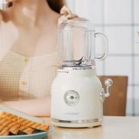 ANIMORE Retro Fruit Juicer Baby Food Milkshake Mixer Portable Blender