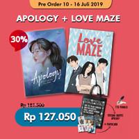 Paket Bundling 2 buku : APOLOGY dan LOVE MAZE (Chaca)