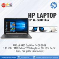 HP Laptop 14-cm0014AX AMD A9-9425
