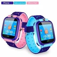 Q12B Jam Tangan Anak GPS Tracker for Kids Smartwatch GPS Waterproof