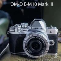 Olympus OM-D E-M10 Mark lll KIT 14-42mm EZ MSC Resmi OCCI