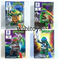 Ninja Turtles Super Hero Minifigure Lego Kura kura Ninja
