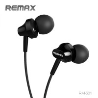 Earphone Microphone Remax kualitas suara bass bergema jelas - RM-501