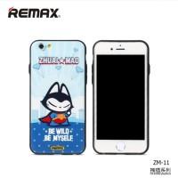 Hard Case Cat Cartoon Protective Remax iPhone 6 6s warna menarik