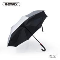 Payung model Terbalik UV Protection Remax struktur besi kuat - RT-U1
