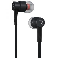 Earphone Microphone Remax bass bergema anti bising hitam - RM-535I