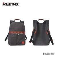 Tas Fashion Notebook Remax Double 511 bahan kain anti koyak trendy