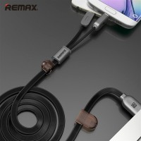 Micro Usb Lightning Pin 2 in 1 Remax High Speed Smartphone iPhone 5 6