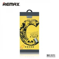 Tempered Glass 0.2mm Color Series Remax iPhone kaca bening anti pecah