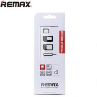 Adapter Converter Nano Micro Sim Card 4 in 1 Remax praktis mudah bawa