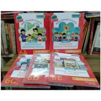 Buku Tematik Terpadu Kelas 6 SD Tema 6A 6B 6C 6D 6E Grasindo