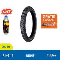 Ban Michelin City Grip Pro 90/80-14 + M-One Gratis Pasang SiTepat