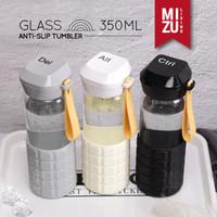 Ctrl+Alt+Del Botol Air Minum Kaca BPA-Free Anti-Slip Glass Tumbler 350