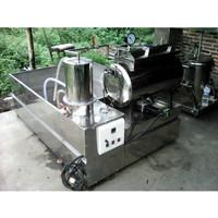 Mesin Vacuum Frying Penggoreng Keripik Buah Kapasitas 5kg