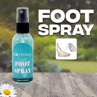 Penghilang Bau Kaki Foot Spray Bio Herbal Menyegarkan Deodorant Kaki