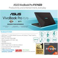 "ASUS VIVOBOOK PRO F570ZD-AMD RYZEN 5|8GB|1TB|GTX1050 4GB|W10|15.6"" FHD"