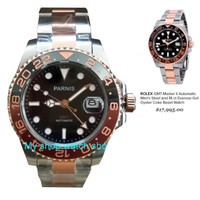 PARNIS GMT Gold Homage Rolex GMT Master Coke Model Rolex GMT Master II