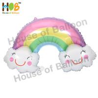 Balon Foil Awan Pelangi / Rainbow Cloud Jumbo