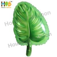 Balon Foil Daun Tropis Tropical Monsterra Philodendron