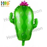 Balon Foil Kaktus Cactus Dekorasi Rustic Western Desert