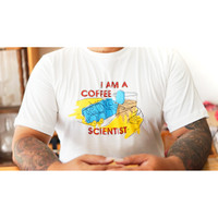 Kaus I am a Coffee Scientist Uk. XL