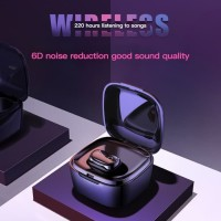 Headset Bluetooth DIVI Be Free Singgle Wireless Headphone - E607 Black