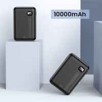 Power bank DIVI Dual port 10000mah Portable Quick Charge Stok