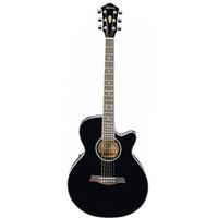 Ibanez AEG8E Black - Gitar Akustik Elektrik Ibanez AEG8