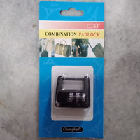 GEMBOK PASSWORD ANGKA / GEMBOK PIN / RESETTABLE COMBINATION
