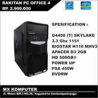 PC Kantor Office Rakitan Intel G4400 3.3 GHz 2GB 500GB