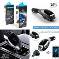 Bluetooth Car Charger FM Modulator Wireless Car Kit X5