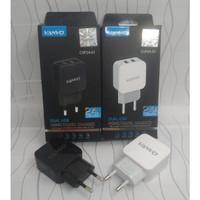 Vanvo Adaptor Travel Charger Batok CVP24-01 2.4A - 2 USB - 2 Output