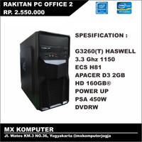 PC Kantor Office Rakitan Intel G3260 3.3 GHz 2GB 160GB