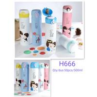 A40 Botol PURE LOVE 500 ml H666
