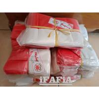 Bendera Merah Putih Plastik Bunga Lily isi 100 Lembar BMF-17