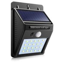 Lampu Solar Sensor Gerak Outdoor 20 LED 460 Lumens Weatherproof - L20