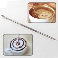 Pen Dekorasi Kopi Barista Motta Latte Art Espresso - F3F27