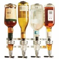 Dispenser Botol Wine Wall Mounted Liquor Machine 4 Station