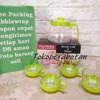Tea Set dan Teko Kaca HC / Cangkir Set Kaca HC