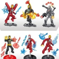 ironman Marvel Minifigure Super Hero Avengers Mega Block
