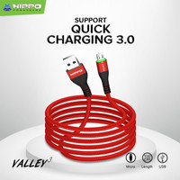 Hippo Kabel Data Valley 3 Micro USB 100cm Fast Charging 3.0