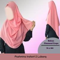 PASHMINA INSTAN / PASTAN 2 LUBANG
