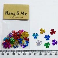 Payet Manik Bunga Kelopak 3 Warna Warni
