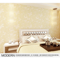 Wallpaper 3D Non Woven Relief Warm Romantic 53cm x 10m - Cream 550801