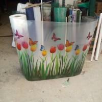 fiber bunga 3 d tulip