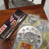 Gir Set SSS Vixion Byson R15 Xabre Komplit 428 44 15 130 HSBT