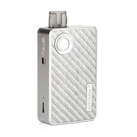POD STARTER KIT - PAL II 1000MAH BY ARTERY AUTHENT SILVER CARBON FIBER