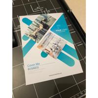 Cetak Brosur A5 / Flyer 1 Sisi - Art Paper 150 gram