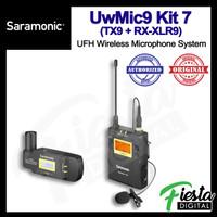 Saramonic UwMic9 Kit 7 ( TX9 + RX-XLR9 ) UHF Wireless Mic System