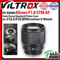 Viltrox Lensa 85mm F1.8 STM AF Lens for Fujifilm FX Mount X Mount